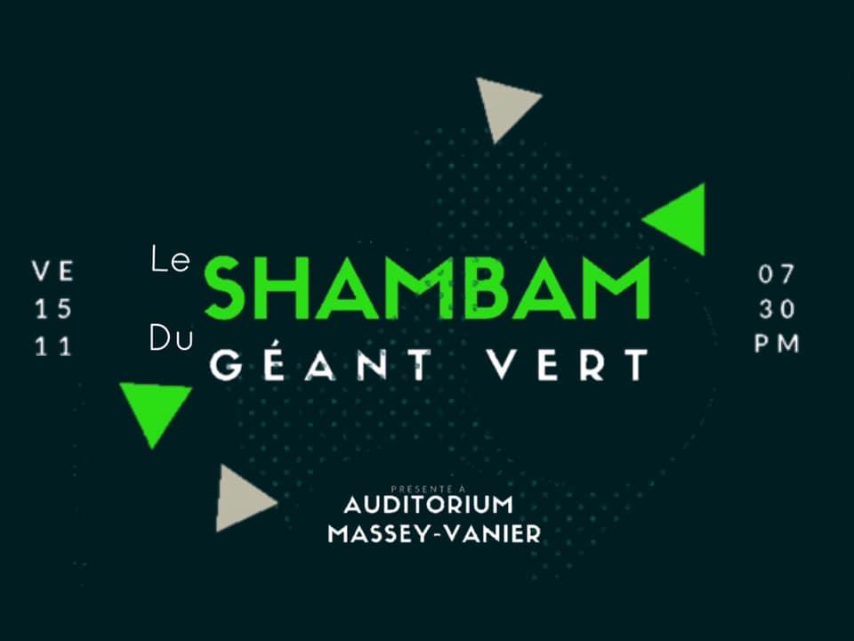 """""""Shambam du Géant Vert"""": Virage vert à l'école Massey-Vanier, des élèves organisent une soirée-bénéfice"""